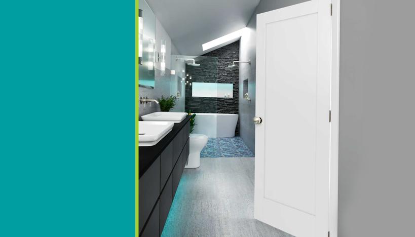 Selecting A Wooden Bathroom Door, Wooden Bathroom Doors